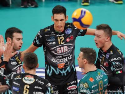 Volley, Champions League 2020: Perugia batte 3-1 il Verva Varsavia. Sesta vittoria consecutiva per gli umbri