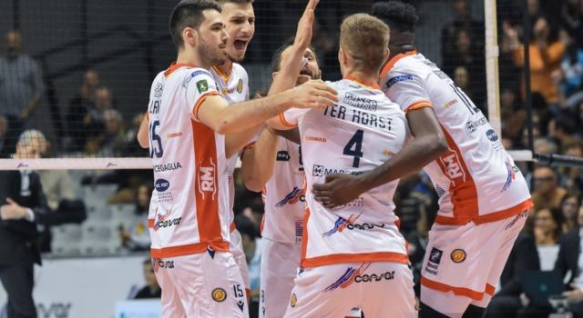 Volley, SuperLega 2020: Ravenna batte Sora al tie-break nell'anticipo della 15^ giornata