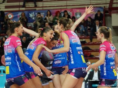 Volley femminile, Novara si sbarazza 3-0 di Yuzhny e consolida il primato nel girone di Champions League