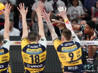 Perugia-Modena Semifinale Coppa Italia volley 2020: programma, orario e tv