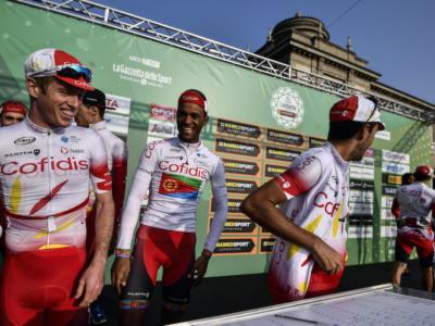 Ciclismo, la formazione e la rosa 2020 della Cofidis: Elia Viviani il faro con rotta sul Tour de France