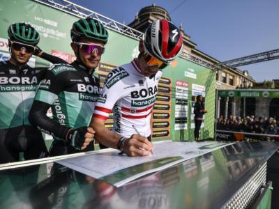 Ciclismo, la formazione e la rosa 2020 della Bora-Hansgrohe: confermati Sagan e Ackermann per le volate, Buchmann la nuova stella per i grandi giri