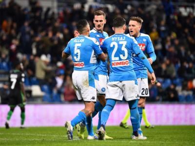 VIDEO Sassuolo-Napoli 1-2, Highlights, gol e sintesi: Elmas la decide nel recupero!