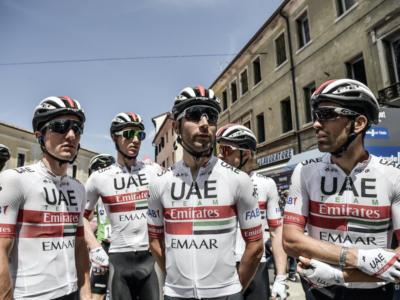 Ciclismo, la formazione e la rosa 2020 della UAE Emirates: Fabio Aru per risorgere, Tadej Pogacar il nuovo fenomeno