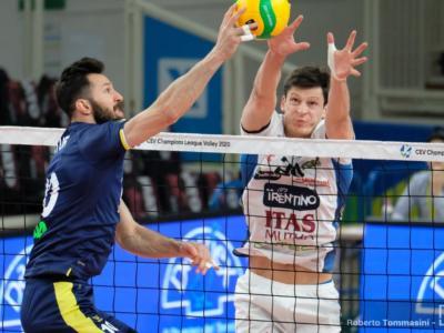Volley, Superlega 2019-2020, 13. giornata. Festa di Natale per Trento: battuta in rimonta 3-1 una Ravenna bella a metà