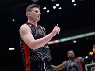 Basket, Arturas Gudaitis saluta l'Olimpia Milano: il lituano approda allo Zenit San Pietroburgo