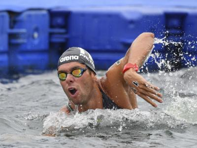 Nuoto di fondo, World Series 2021: Gregorio Paltrinieri terzo a Doha, vince Marc-Antoine Olivier