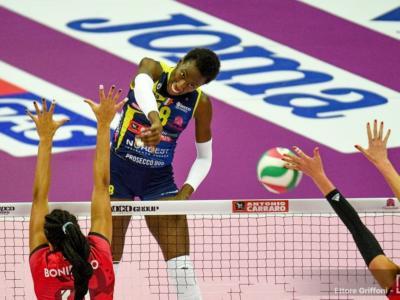 Volley femminile, Serie A1 2020-2021: Conegliano batte nettamente Busto Arsizio. Bene Scandicci e Cuneo