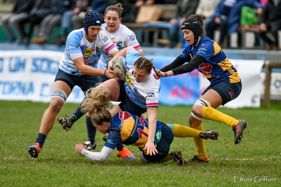 Rugby femminile, Serie A 2021 2022: vittorie di Valsugana, Colorno e Villorba nel Girone 1 Meritocratico