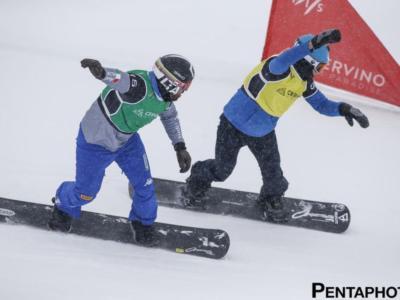 Snowboardcross, ITALIA PIGLIATUTTO! Lorenzo Sommariva precede Emanuel Perathoner a Cervinia, doppietta da sogno!