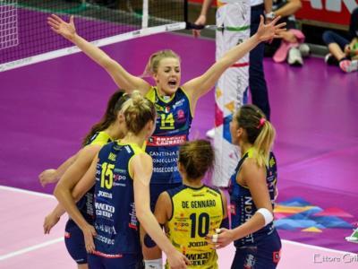 Volley femminile, Serie A1 2020: Conegliano Campione d'Inverno, Busto Arsizio risponde, Scandicci risale