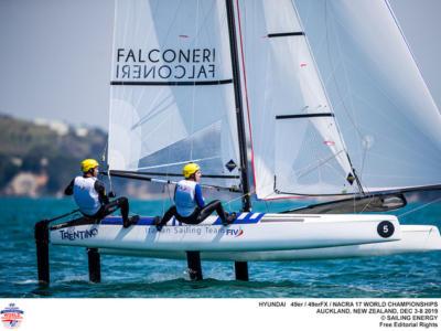 """Vela, Michele Marchesini: """"Un giorno molto intenso, in particolare per le due Gold Fleet"""""""