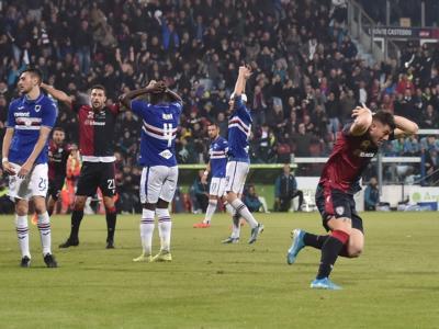 VIDEO Cagliari-Sampdoria 4-3, Highlights, gol e sintesi: incredibile rimonta dei sardi, decide Cerri in pieno recupero