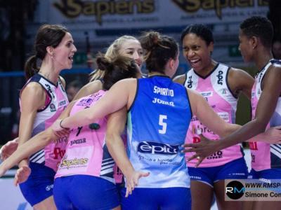 Volley femminile, Serie A1 2020: Conegliano travolge Busto Arsizio, le Pantere volano a +6. Vincono Novara e Scandicci
