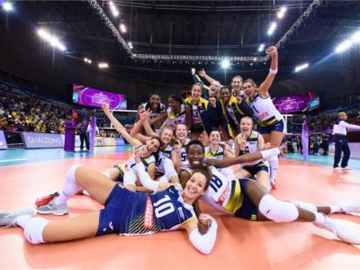 Volley femminile, Mondiale per Club 2019: Conegliano sfida l'Eczacibasi Istanbul per salire sul tetto del mondo