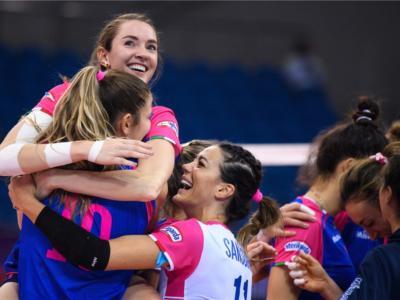 Volley femminile, Novara asfalta lo Stoccarda in Champions League e si rilancia verso i quarti di finale