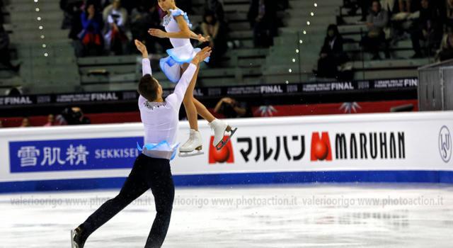 Pattinaggio artistico, Panfilova-Rylov sul velluto nello short delle coppie ai Mondiali Junior di Tallinn, bene Montan-Piazza