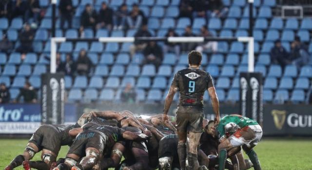 Rugby, Pro 14: Zebre-Benetton Treviso 8-13, Faiva decide la battaglia nel fango di Parma