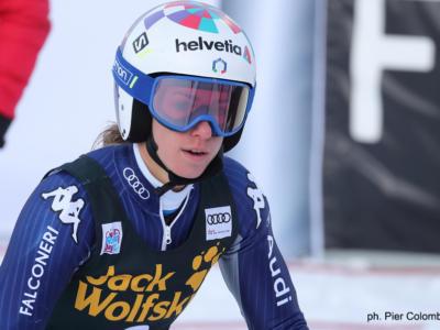 """Sci alpino, Marta Bassino: """"Il centesimo che mi tiene giù dal podio mi fa arrabbiare"""""""