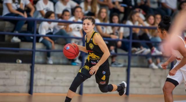 Basket femminile, San Martino di Lupari supera Battipaglia nel recupero dell'11a giornata di Serie A1