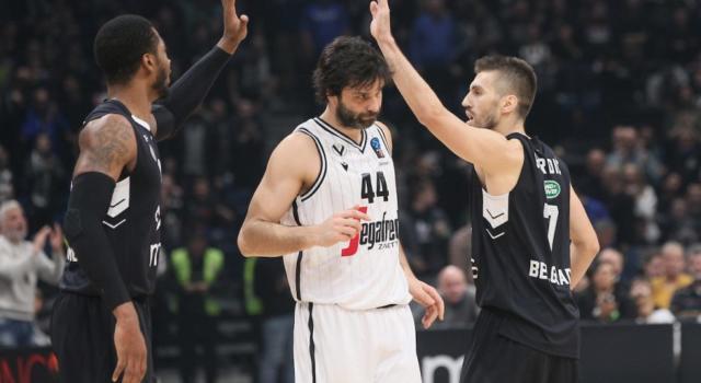 Basket: Virtus Bologna crolla in EuroCup. Il Partizan Belgrado domina e vince la prima partita delle Top 16