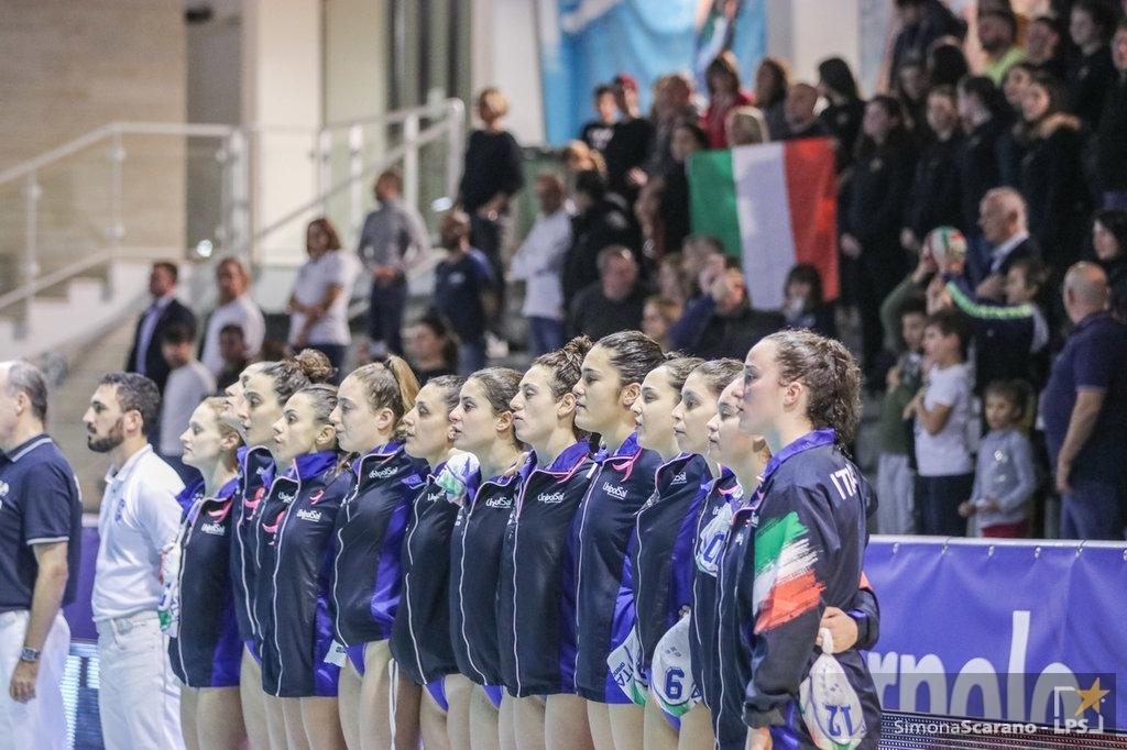 Pallanuoto femminile |  Preolimpico 2021 |  il calendario e gli orari delle partite dell'Italia