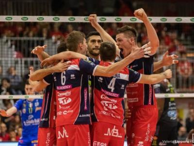 Volley, SuperLega: Piacenza batte in trasferta 3-1 Milano. Georg Grozer cecchino infallibile