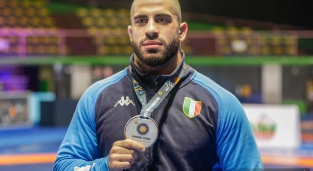 Lotta, Nikoloz Kakhelashvili si impone nei -97 kg della greco-romana alle Ranking Series 2020 di Ostia