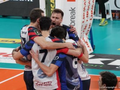Volley, Coppa Italia 2021: Milano e Monza vincono facilmente, Cisterna espugna Piacenza