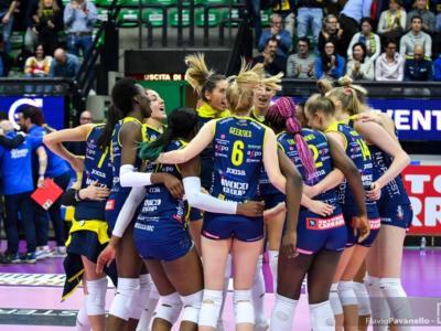 Volley femminile, Conegliano travolge lo Stoccarda e ipoteca la semifinale di Champions League