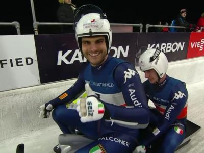Slittino, Rieder-Kainzwaldner argento mondiale in doppio nella sprint! Gli azzurri si consacrano a Sochi!