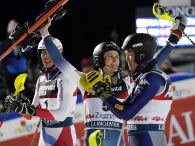 Sci alpino, Clement Noel e Alex Vinatzer: a Zagabria l'inizio di una lunga rivalità