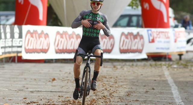 Ciclocross: tra gli juniores Davide De Pretto si aggiudica il titolo italiano a Schio