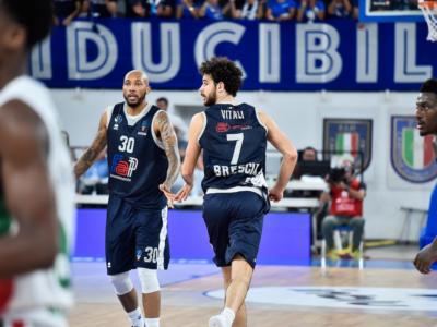 Basket, Brescia si impone in casa su Oldenburg per 70-67 e raggiunge Venezia in vetta al gruppo F delle Top 16 di Eurocup