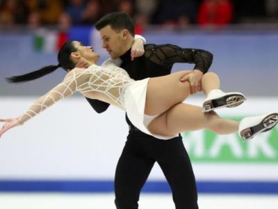 Pattinaggio di figura: meraviglia Guignard-Fabbri. I danzatori incantano alla terza tappa del Gran Premio Italia 2020