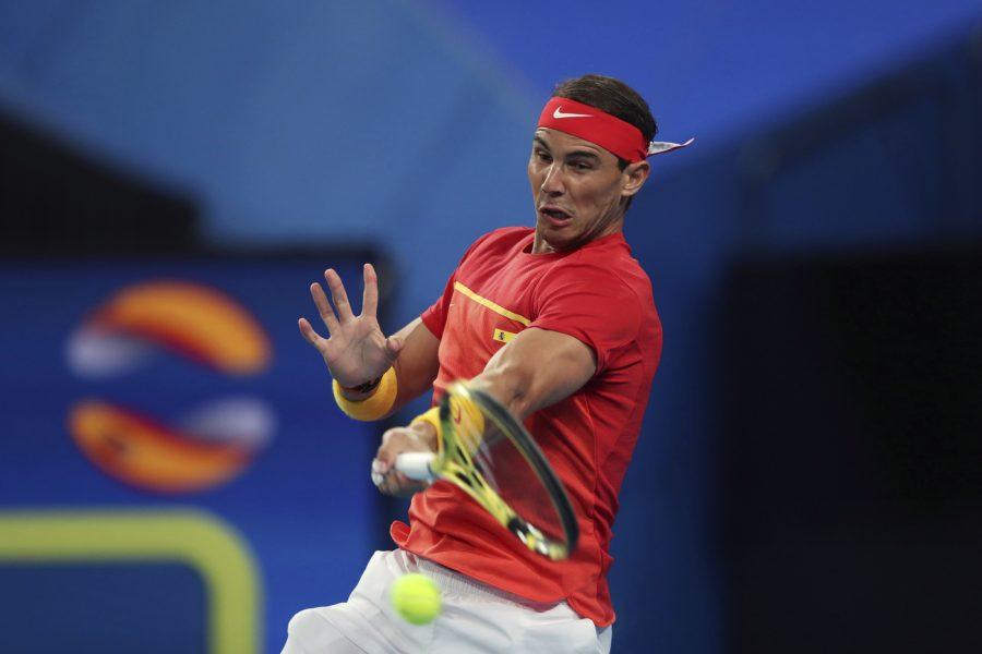 ATP Cup 2021, esordio stagionale per Rafael Nadal. Unico test verso gli Australian Open