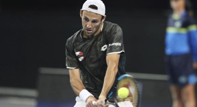 Tennis, ATP Sofia 2020: Stefano Travaglia dà forfait per un problema al gomito destro