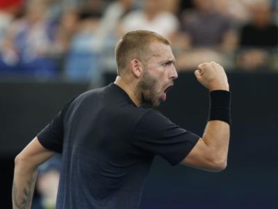 Tennis, ATP Adelaide 2020: avanzano agli ottavi Evans e Querrey, eliminato Garin