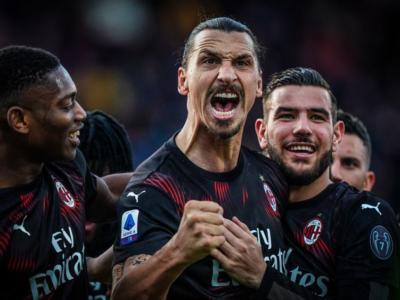 Cagliari-Milan 0-2, Ibrahimovic dà la scossa ai rossoneri: lo svedese a segno con Leao, sardi ko