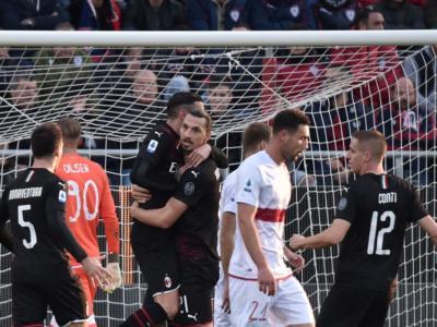 Highlights Cagliari-Milan 0-2: video, gol e sintesi. Ibrahimovic segna e trascina il Diavolo
