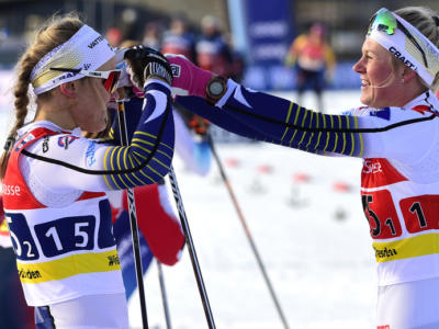 Sci di fondo, la sprint tl di Ulricehamn va a Maja Dahlqvist. Terza Jessie Diggins, 29ma Greta Laurent