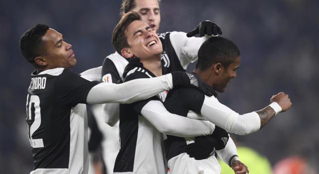 Juventus-Udinese 4-0, i bianconeri volano ai quarti di finale della Coppa Italia: magie di Higuain e Dybala
