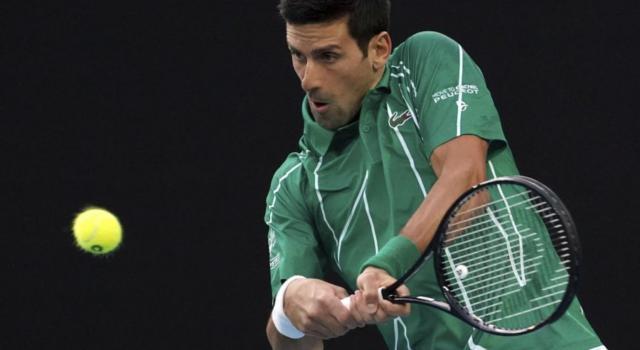 """Australian Open 2020, Novak Djokovic: """"Rispetto per Roger per essere sceso in campo"""""""