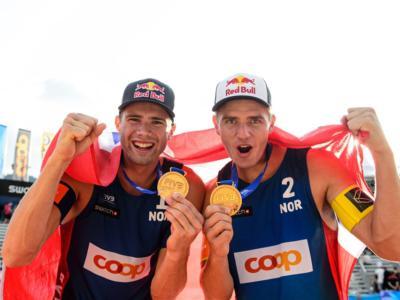 """Beach volley, Mol/Sorum """"squadra dell'anno"""" in Norvegia"""