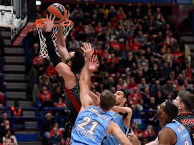 Basket, Eurolega 2020: i risultati di venerdì 3 gennaio. Cska, brutto ko ai supplementari, nette vittorie per Efes e Real Madrid