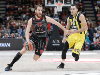LIVE Fenerbahce-Olimpia Milano, Eurolega basket 2020 in DIRETTA: 73-64, De Colo e Sloukas decidono nel finale
