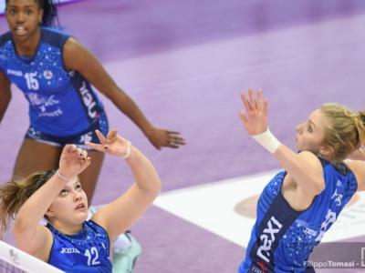 Volley femminile, le migliori italiane della 15ma giornata di A1. Lubian, Squarcini e Fahr: giovani centrali crescono