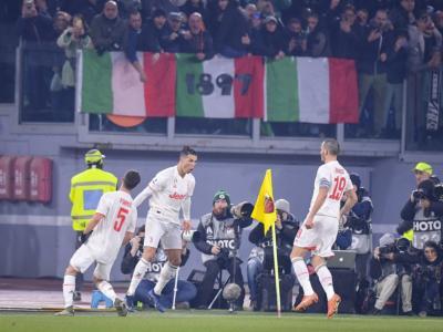 Calcio, 19^ giornata Serie A 2020: Roma-Juventus 1-2, i bianconeri sono campioni d'inverno