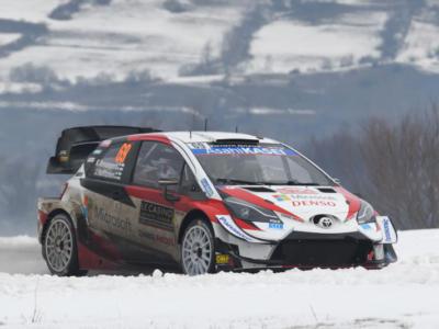 Rally Svezia 2020: lo shakedown va a Kalle Rovanpera, annullato il primo stage per colpa del meteo