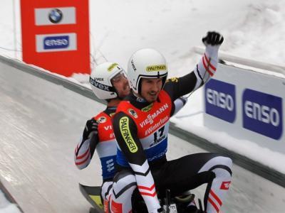 Slittino: brutto infortunio in allenamento, stagione finita per il doppio austriaco Steu/Koller